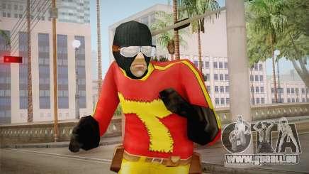 Toni Cipriani in Hero Costume pour GTA San Andreas