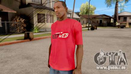 Deep Web T-Shirt für GTA San Andreas