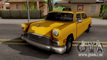Cabbie New Texture pour GTA San Andreas