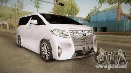 Toyota Alphard 3.5G 2015 v2 pour GTA San Andreas