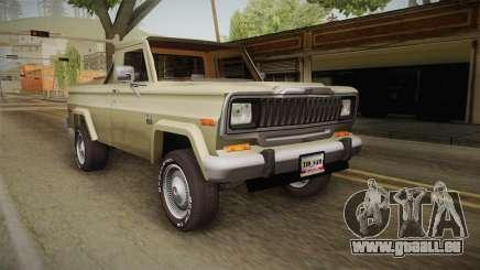 Jeep J-10 Comanche pour GTA San Andreas