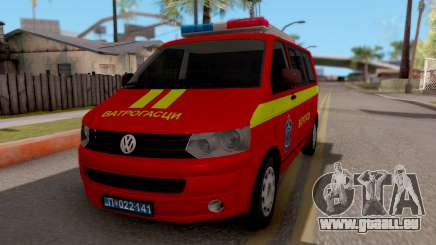 Volkswagen Transporter T5 Vatrogasci für GTA San Andreas