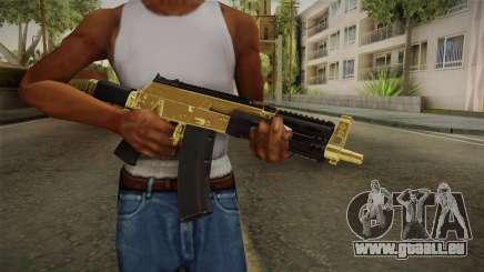 AK-12 Gold pour GTA San Andreas