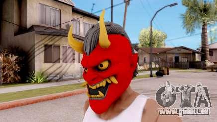 Maske Samurai für GTA San Andreas
