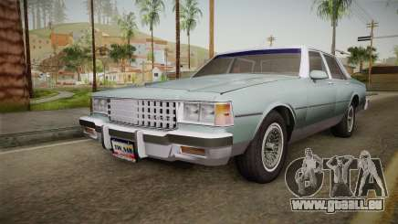 Chevrolet Caprice 1985 Stock pour GTA San Andreas