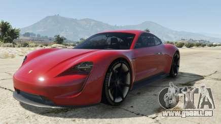 Porsche Mission E 2015 pour GTA 5