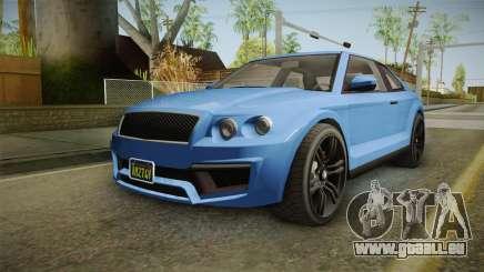 GTA 5 Enus Huntley Coupè pour GTA San Andreas