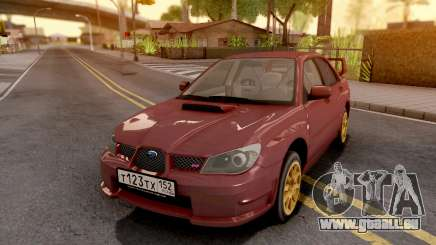 Subaru Impreza WRX STI 2006 pour GTA San Andreas