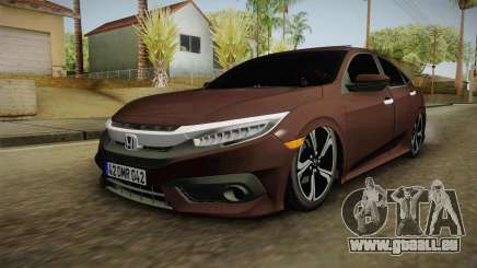 Honda Civic 2017 FC5 pour GTA San Andreas