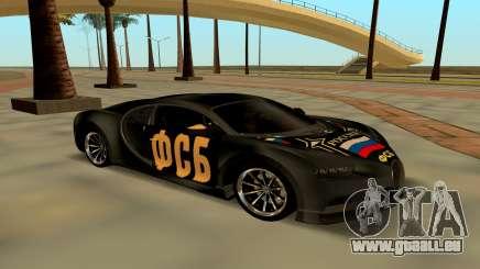 Bugatti Chiron FSB pour GTA San Andreas