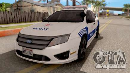 Ford Fusion 2011 Turkish Police pour GTA San Andreas