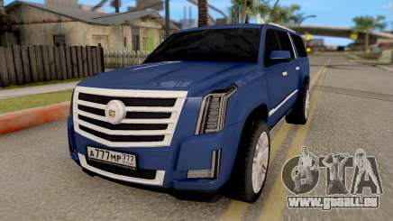 Cadillac Escalade Long Platinum 2016 für GTA San Andreas