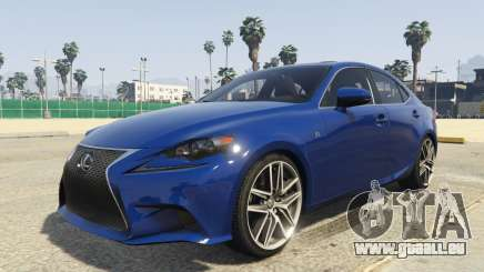 Lexus IS350 F-Sport 2014 pour GTA 5