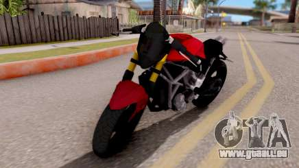 Kawasaki Ninja 250 Freestyle für GTA San Andreas