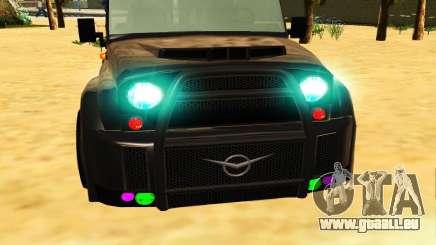 Nouvelle couleur pour les phares pour GTA San Andreas