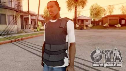 Le haut de la veste t-shirt pour GTA San Andreas