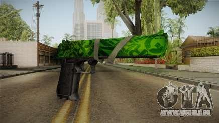 Green Desert Eagle für GTA San Andreas