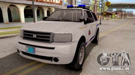 Dundreary Landstalker Hometown PD 2009 pour GTA San Andreas