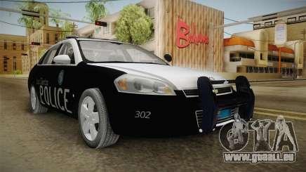 Chevrolet Impala 2009 LSPD pour GTA San Andreas