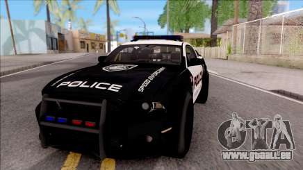 Ford Mustang GT High Speed Police für GTA San Andreas