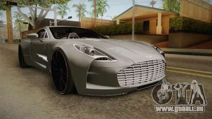 Aston Martin One-77 v2 für GTA San Andreas