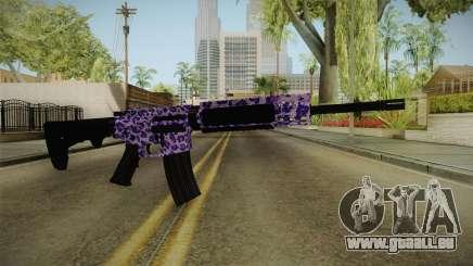 Tiger Violet M4 pour GTA San Andreas