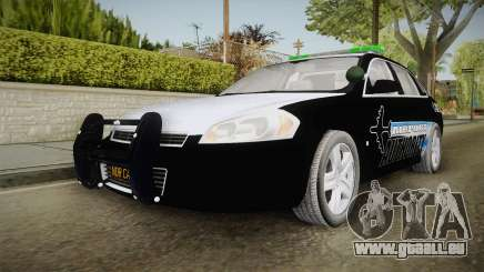 Chevrolet Impala 2009 Airport Authority für GTA San Andreas