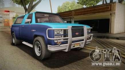 GTA 5 Vapid Bobcat S IVF für GTA San Andreas