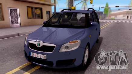 Skoda Roomster Stock pour GTA San Andreas