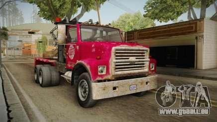 GTA 5 Vapid Towtruck Large Worn pour GTA San Andreas