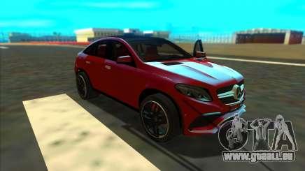 Mercedes-Benz GLE 63 AMG 2017 pour GTA San Andreas