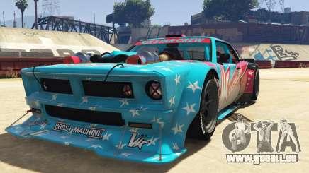 Declasse Drift Tampa V2 pour GTA 5