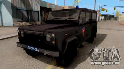 Land Rover Defender De La Gendarmerie, Which pour GTA San Andreas