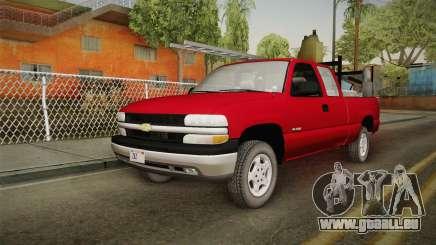 Chevrolet Silverado Work Truck 2001 pour GTA San Andreas