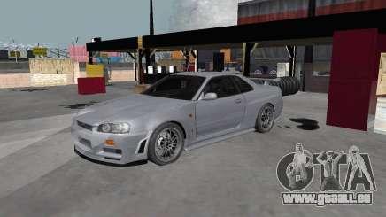 Nissan Skyline R34 Z-tune pour GTA San Andreas