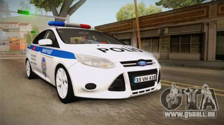 Ford Focus 1.6 Turkish Police für GTA San Andreas