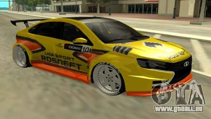 Lada Vesta WTCC pour GTA San Andreas