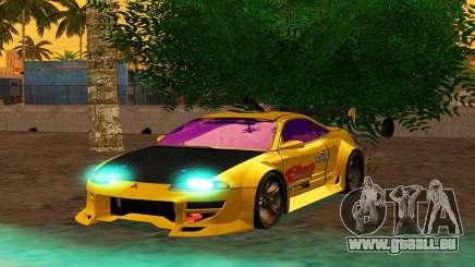 Mitsubishi Eclipse GST 1999 pour GTA San Andreas