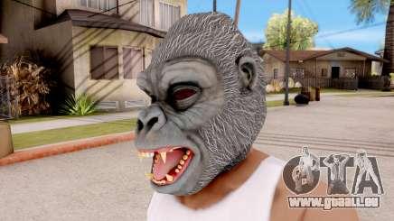 Le Masque De Gorille pour GTA San Andreas
