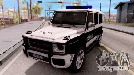 Mercedes-Benz G65 AMG BIH Police Car für GTA San Andreas