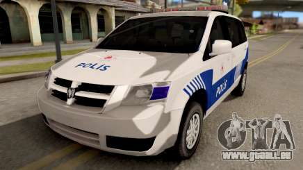 Dodge Grand Caravan Turkish Police für GTA San Andreas