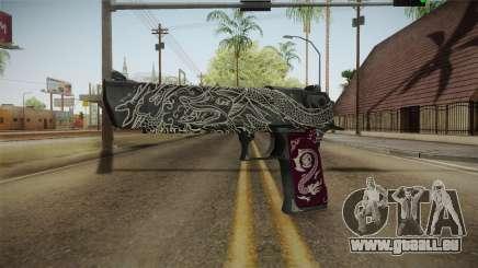 CS:GO - Desert Eagle Kumicho Dragon für GTA San Andreas
