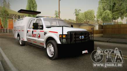 Ford F-250 2012 SA DOT Highway Helper für GTA San Andreas