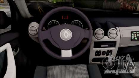Renault Duster Spanish Police pour GTA San Andreas vue intérieure