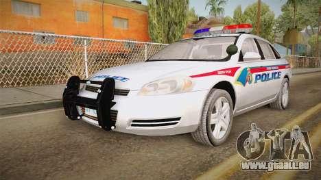 Chevrolet Impala 2006 YRP pour GTA San Andreas