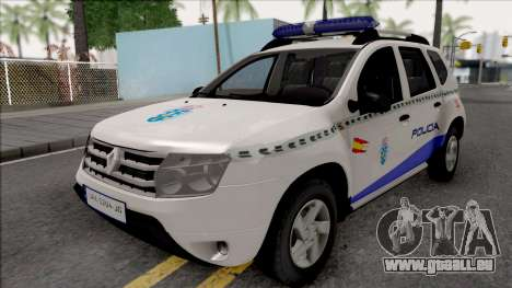 Renault Duster Spanish Police pour GTA San Andreas