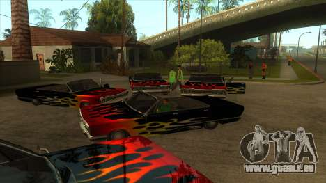 Visual Car Copypaster v1.0 pour GTA San Andreas troisième écran