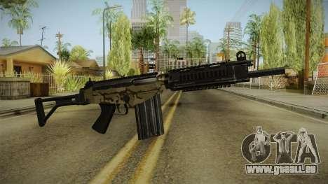 DSA FAL Camo Variant für GTA San Andreas
