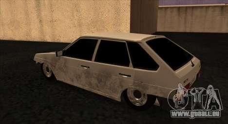 VAZ-2109БК pour GTA San Andreas laissé vue