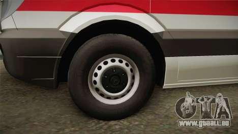 Mercedes-Benz Sprinter Iranian Ambulance pour GTA San Andreas vue arrière